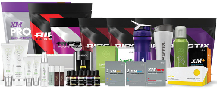 zija natural health revolution products