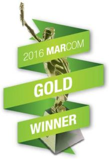 2016 marcom gold award winner